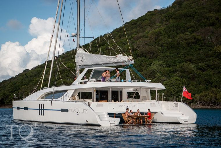 TRANQUILITY Yacht Charter - Ritzy Charters
