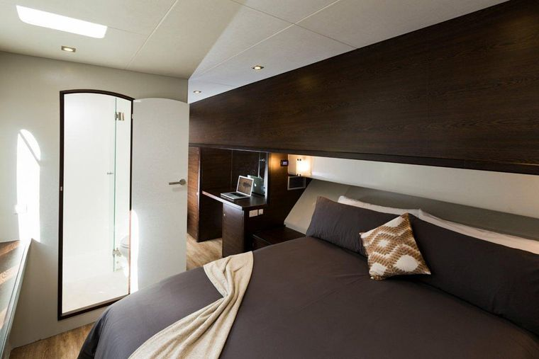 TRANQUILITY Yacht Charter - Master king guest suite