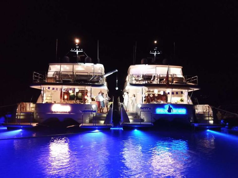 SEA BOSS Yacht Charter - Tandem Charters are the Best!