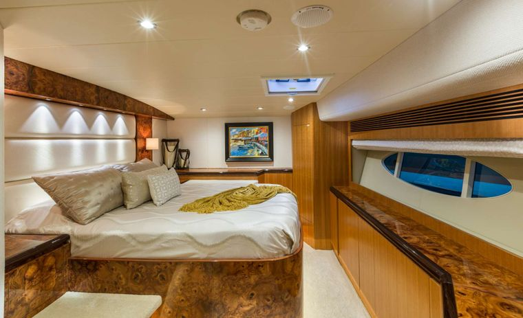 SEA BOSS Yacht Charter - VIP Stateroom with Ensuite