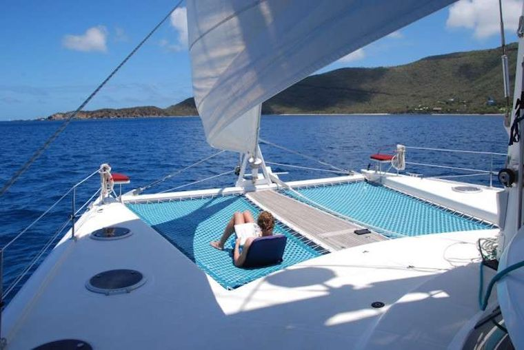 DELPHINE Yacht Charter - Huge Decks for Lounging