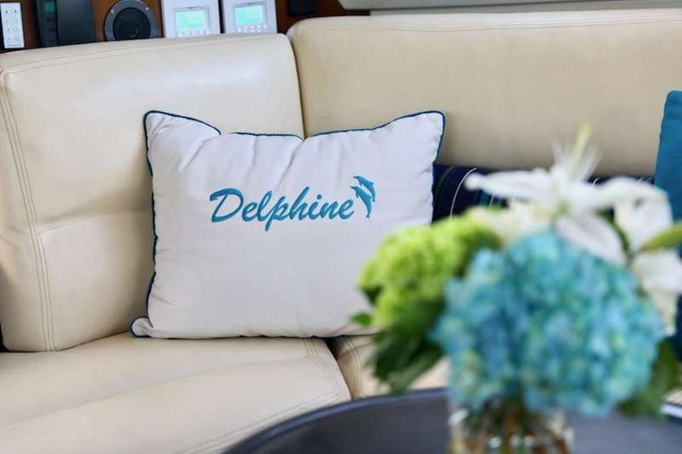 DELPHINE Yacht Charter - Bright and Colorful Decor