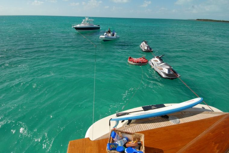 KALEEN Yacht Charter - Water Toys and Tender
