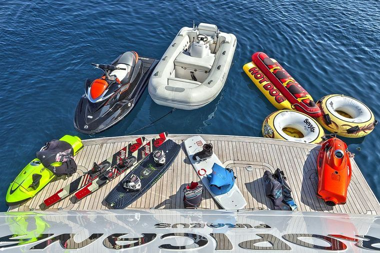 TROPICANA Yacht Charter - Water Toys