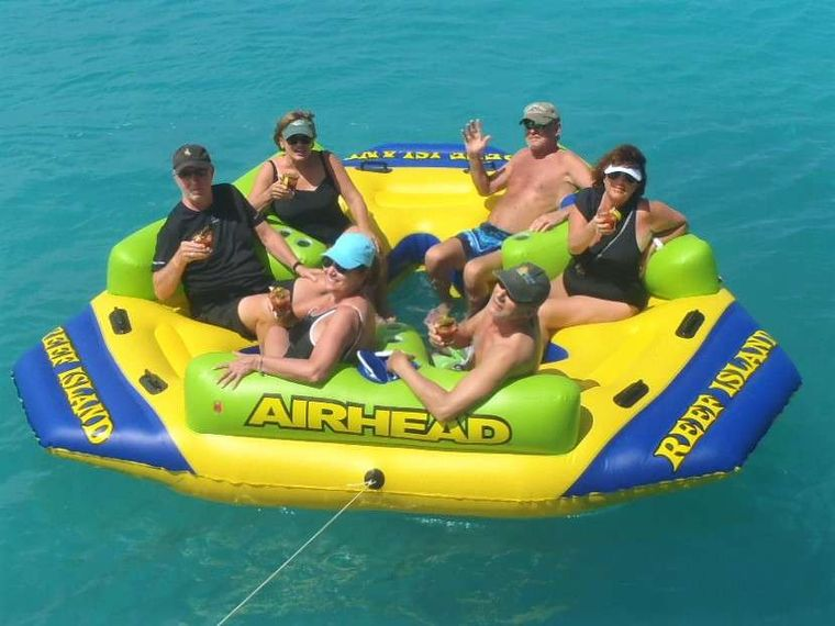 AZULIA II Yacht Charter - Many inflatables for your enjoyment!