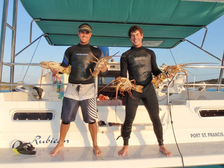 RUBICON Yacht Charter - A good catch
