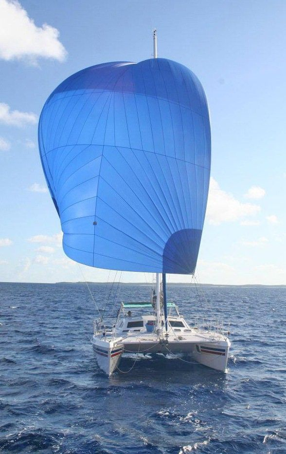 RUBICON Yacht Charter - Get the spinnaker going!