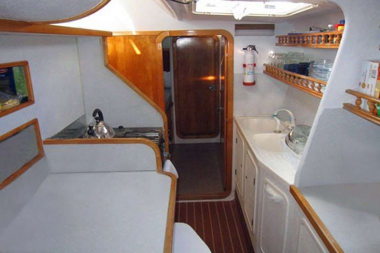 RUBICON Yacht Charter - Galley