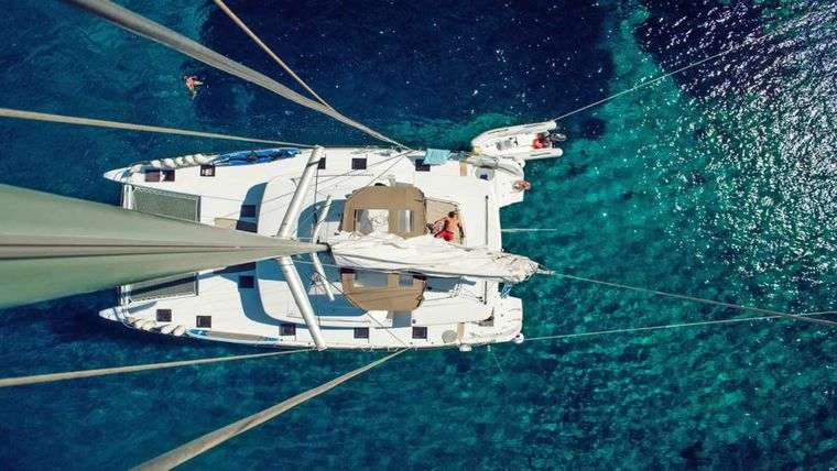 KEPI Yacht Charter - View from the mast