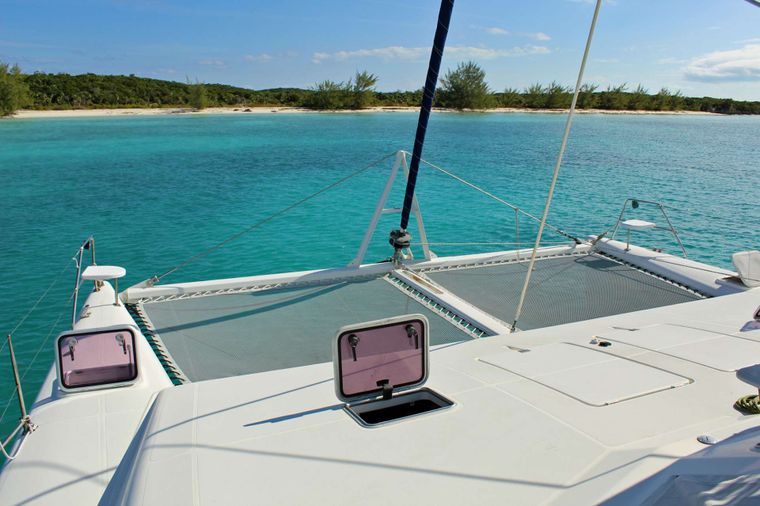 SWISH Yacht Charter - Foredeck & Trampolines