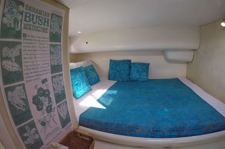 SWISH Yacht Charter - Starboard Aft Guest Cabin