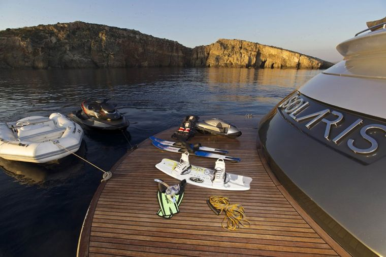 SOLARIS Yacht Charter - Water toys