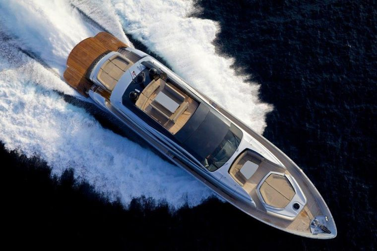 SOLARIS Yacht Charter - aerial view