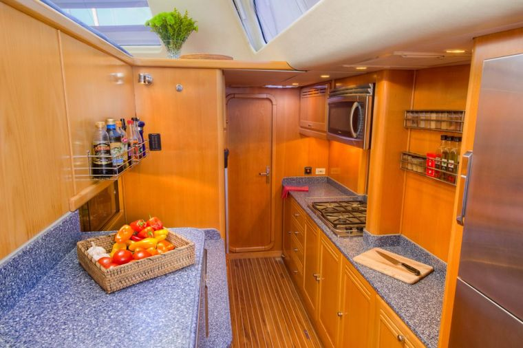 THE BIG DOG Yacht Charter - Gourmet galley