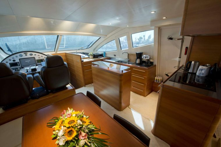 JULY Yacht Charter - Dining Area
