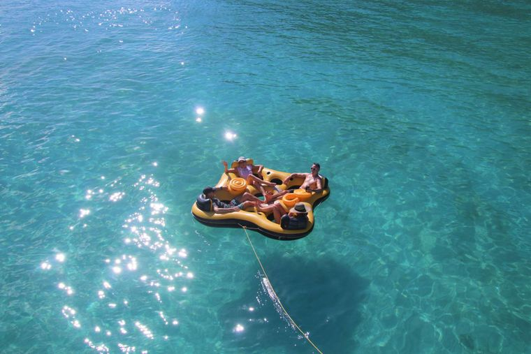 SERENITY NOW Yacht Charter - JUST FLOATING