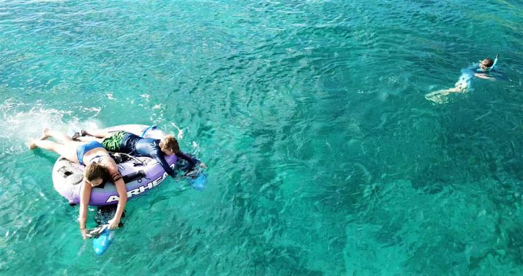 SERENITY NOW Yacht Charter - POWER (SEADOO) TUBING/ EXPLORING