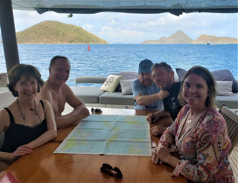 SERENITY NOW Yacht Charter - TRIP ITINERARY PLANING WITH CPT. JOHN