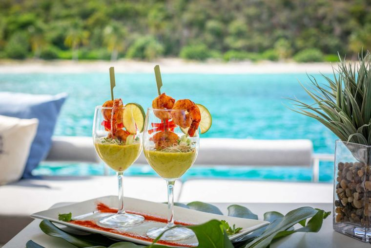SERENITY NOW Yacht Charter - DELICIOUS MEALS BY CHEF SHIRELLE
