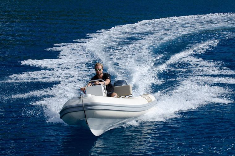 XENIA62 Yacht Charter - Large and fast dingy