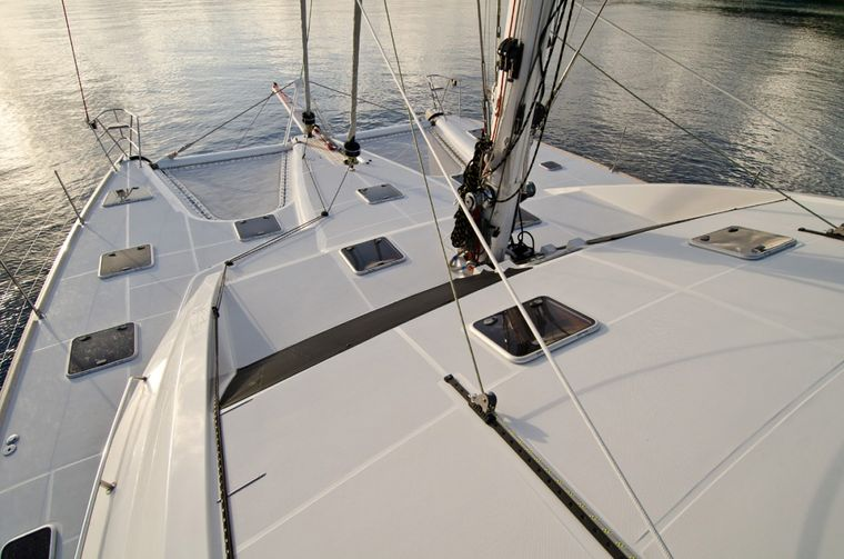 XENIA62 Yacht Charter - Front deck space