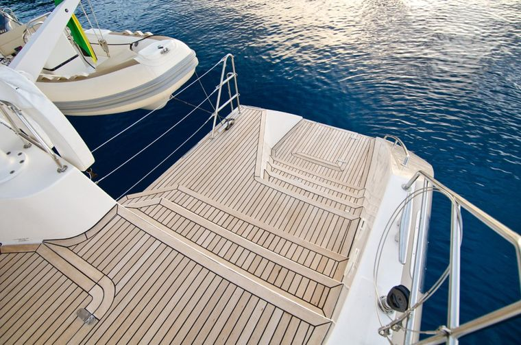 XENIA62 Yacht Charter - Easy water access steps