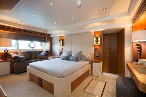 PLAY THE GAME Yacht Charter - Master Cabin
