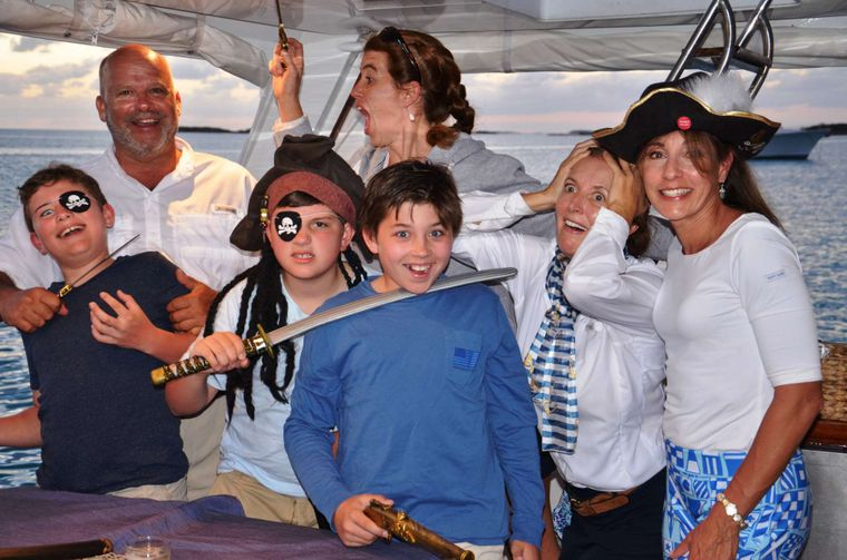 BONAPARTE Yacht Charter - pirate night!