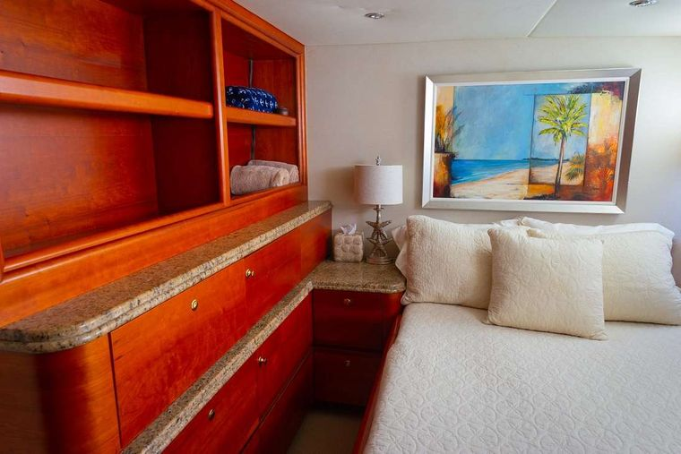 BONAPARTE Yacht Charter - Guest Stateroom 1 - Double Bed