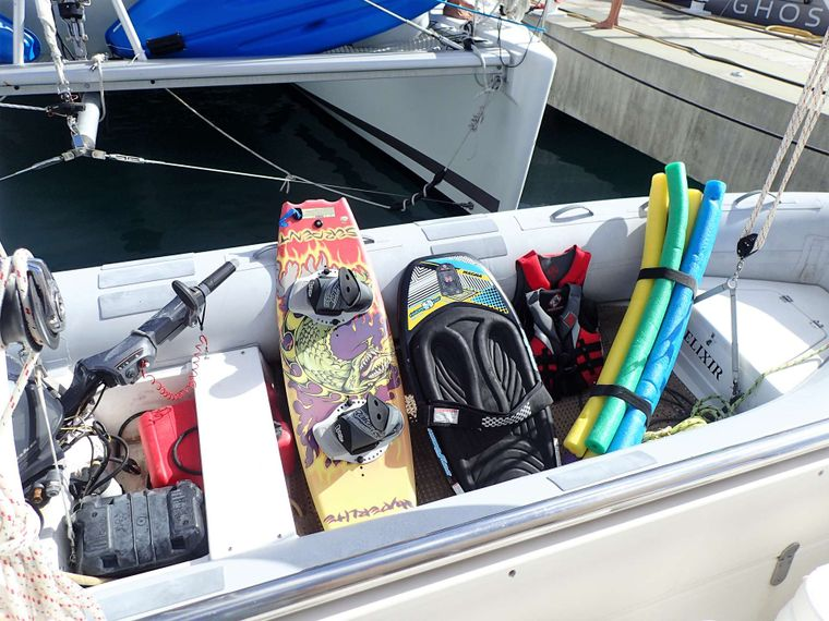 ELIXIR Yacht Charter - Fully loaded with water toys for action-packed fun!