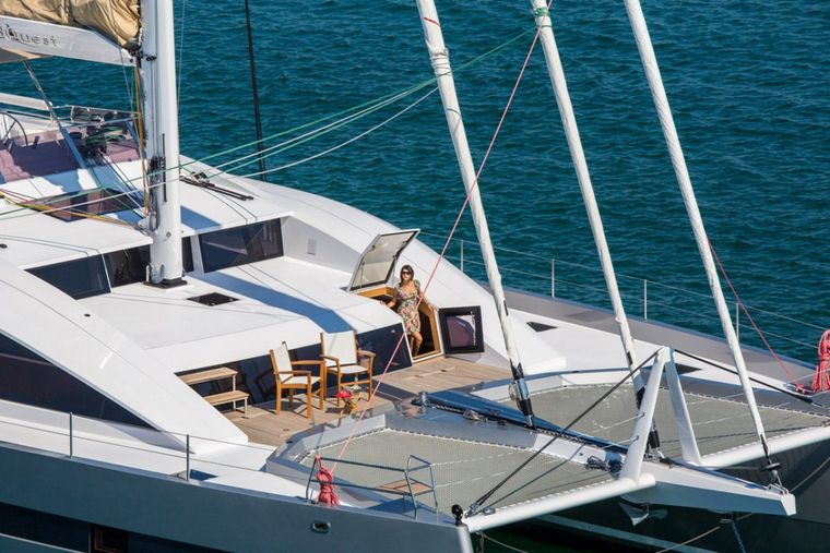 WINDQUEST Yacht Charter - Terrace Accessible From Master