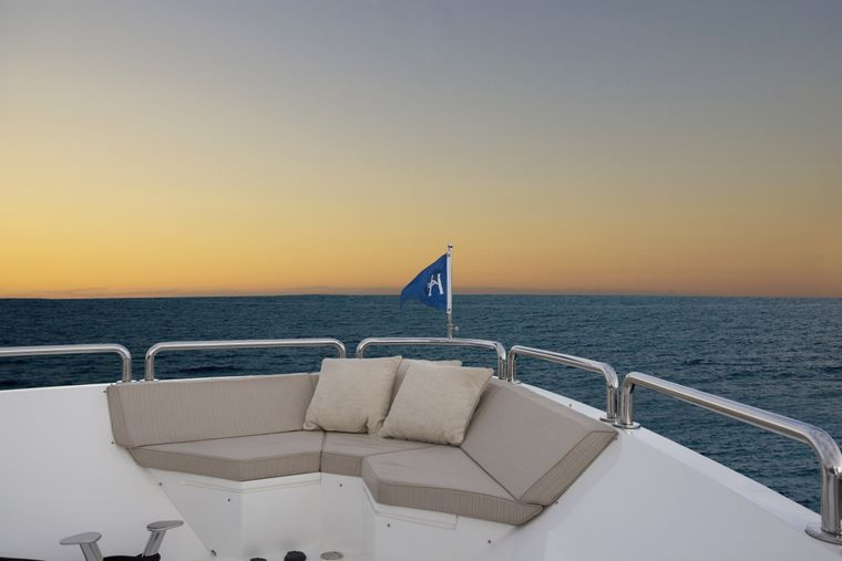 CARBON COPY Yacht Charter - Bow seating