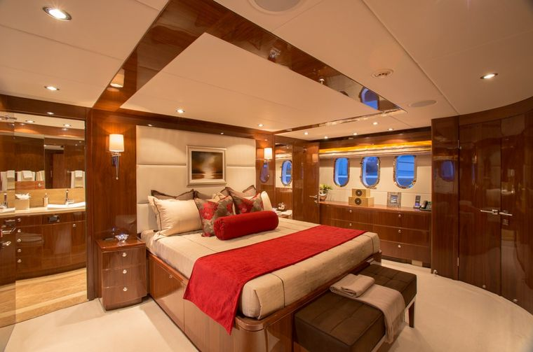 CARBON COPY Yacht Charter - Master Stateroom