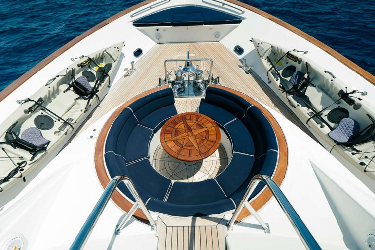 PLAN A Yacht Charter - BOW
