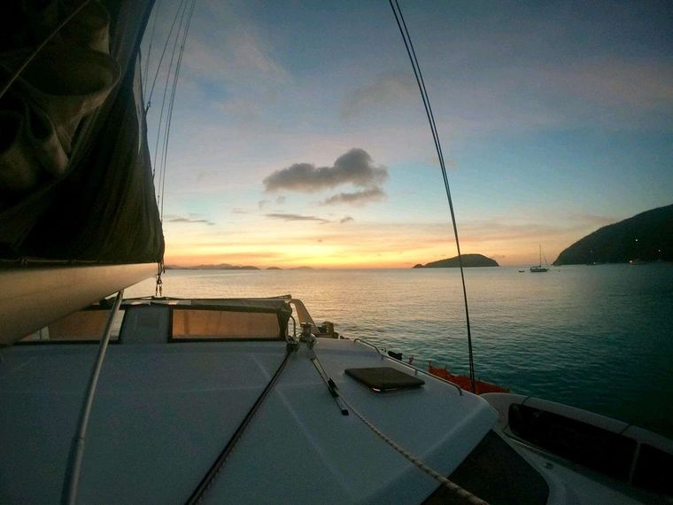 GENESIS II Yacht Charter - Peaceful anchorages