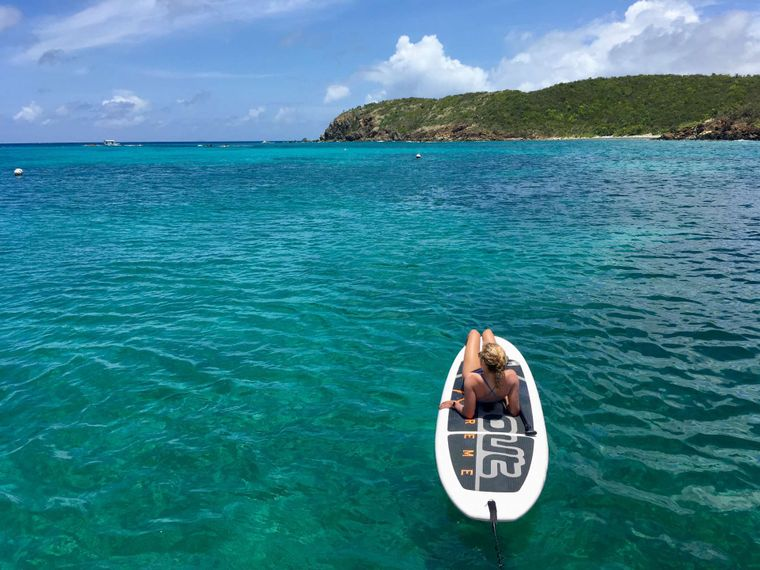 GENESIS II Yacht Charter - Paddle or float, it's up to you