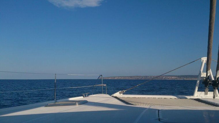 MAGEC Yacht Charter - View from the bow