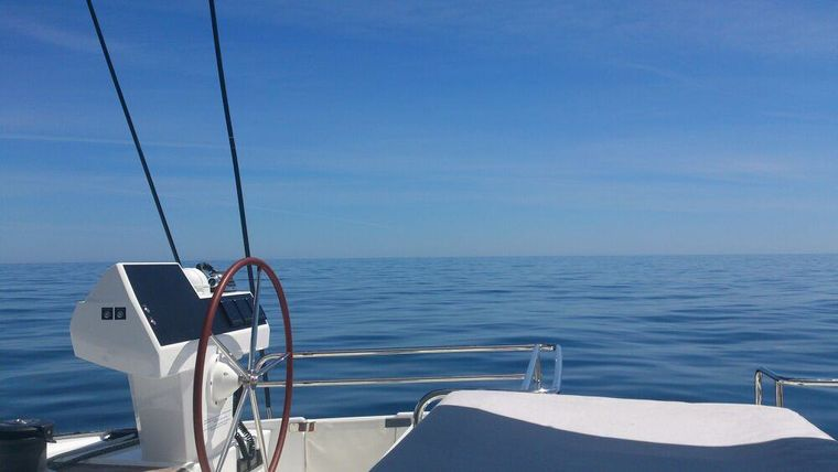 MAGEC Yacht Charter - View from the flybridge