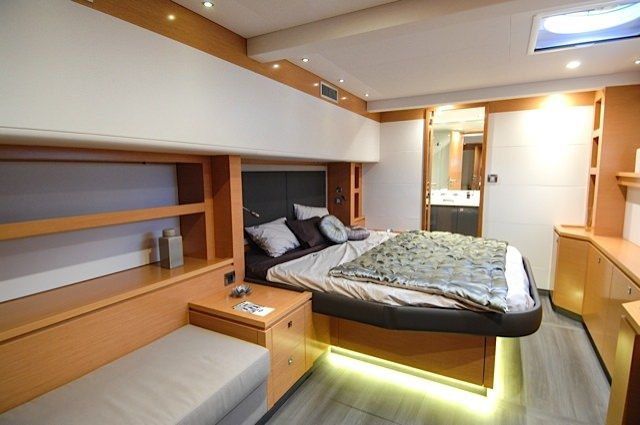 MAGEC Yacht Charter - Incredible master cabin