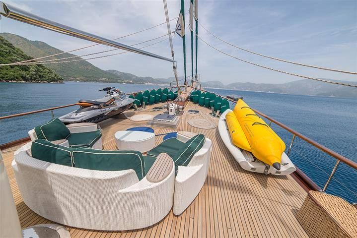 GRANDEMARE Yacht Charter - Bow