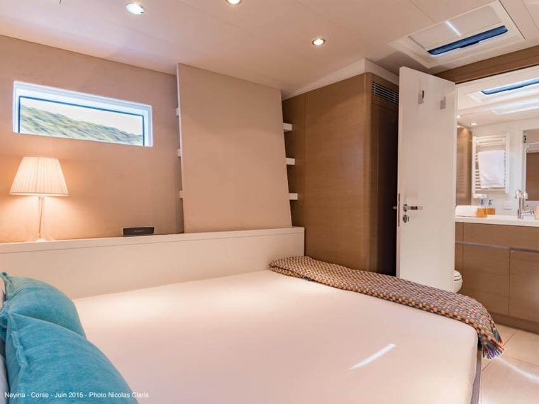 NEYINA Yacht Charter - The double Guest cabin