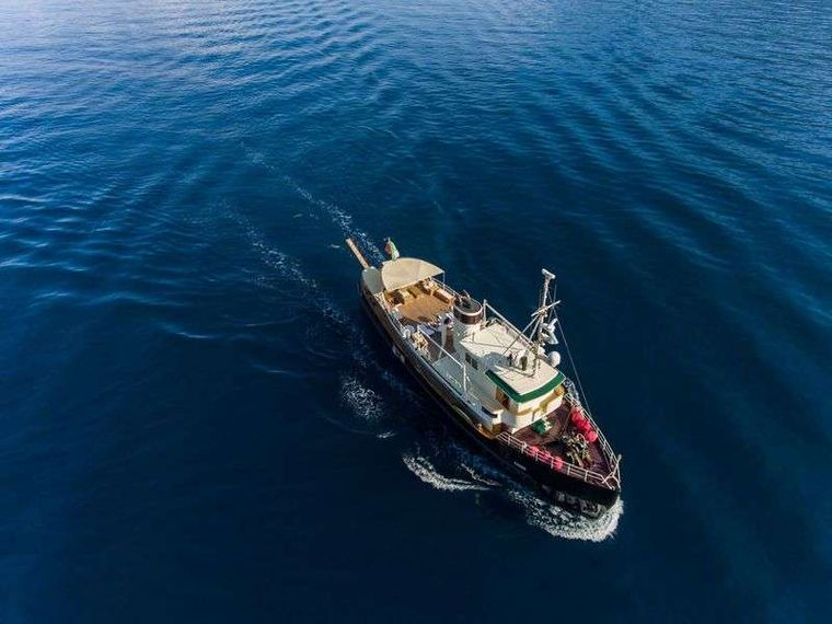 DP MONITOR Yacht Charter - Aereal view