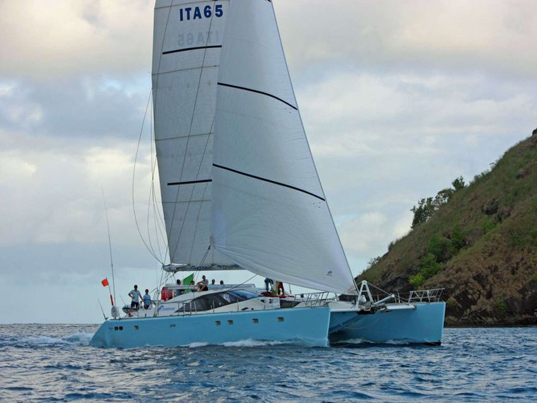 SAGITTARIUS Yacht Charter - Under Full Sail