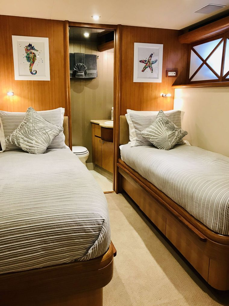 EQUINOX Yacht Charter - Twin Convertible Stateroom