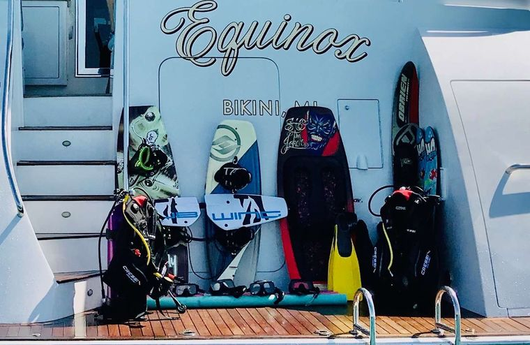 EQUINOX Yacht Charter - Toys