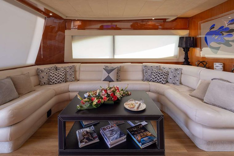 AMOR Yacht Charter - Saloon other view