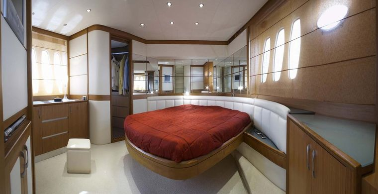 SUSY Yacht Charter - owners cabin