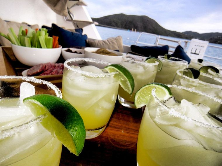 XENIA74 Yacht Charter - Specialty cocktails
