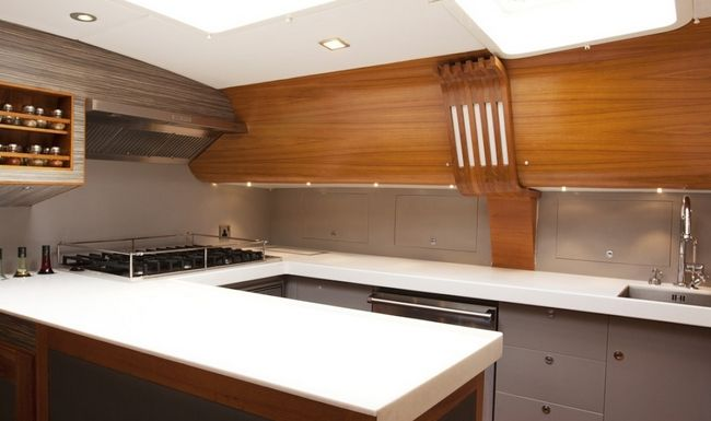 SILVERLINING Yacht Charter - Galley