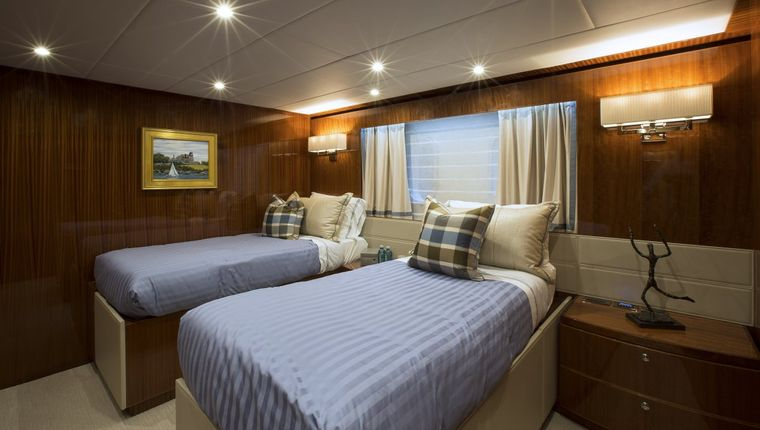 RENAISSANCE Yacht Charter - King Bed Stateroom that Converts to Twins